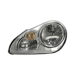 For Porsche Cayenne 03-06 Replace Po2502112 Driver Side Replacement Headlight