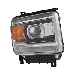 For Gmc Sierra 2500 Hd 15-19 Replace Passenger Side Replacement Headlight