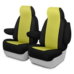 For Ford Courier 72-82 Neosupreme 1st Row Yellow W Black Custom Seat Covers