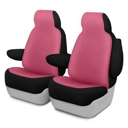 For Ford Courier 72-82 Dash Designs Neosupreme 1st Row Pink Custom Seat Covers