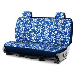 For Ford Courier 72-82 Dash Designs Hawaiian 1st Row Blue Custom Seat Cover