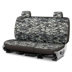 For Chevy El Camino 81-87 Camo 1st Row Digital Charcoal Custom Seat Covers