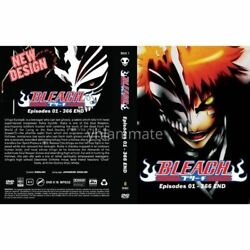 Anime Dvd- Bleach Eps 1-366 End.. English Dubbed [new Cover Design]