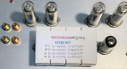 Ecc85 Tube Matched Quad Nos Rft Germany High Precision Tested/matched Roetestv10