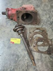 Pto Belt Pulley Box And Drive Kit. Farmall / Ih Tractor A Super A 100 130 140