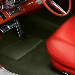 For Mg Midget 62-79 Sewn-to-contour Replacement Carpet Sewn-to-contour Olive