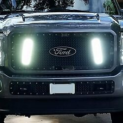 For Ford F-250 Super Duty 11-16 Main Grille 1-pc Rcx Explosive Dual Led Design