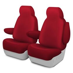 For Ford Courier 72-82 Genuine Neoprene 1st Row Red Custom Seat Covers