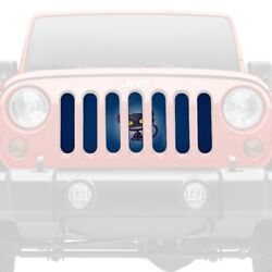 For Jeep Patriot 07-17 1-pc Witchand039s Best Friend Style Perforated Main Grille