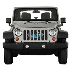 For Jeep Wrangler Jk 18 Main Grille 1-pc State And City Flags Series Maryland Crab