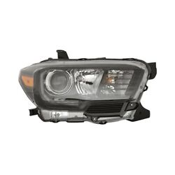 For Toyota Tacoma 17-19 Pacific Best P84723 Passenger Side Replacement Headlight