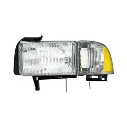 For Dodge Ram 2500 94-02 Pacific Best P521ne Driver Side Replacement Headlight