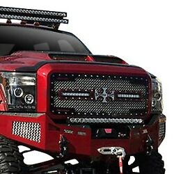 For Ford F-250 Super Duty 11-16 Main Grille 1-pc Rc2x Led X-treme Dual Design