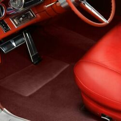 For Mg Midget 62-79 Sewn-to-contour Replacement Carpet Sewn-to-contour Maroon