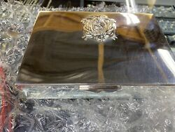 Sterling Silver Jewelry Authentic Chest Vintage Rare Plata 925 Classic