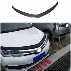 For 2014-2018 Toyota Corolla Abs Black Front Engine Hood Center Grille Strip 1x