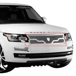 For Land Rover Range Rover 13-16 Main Grille Lexani 1-pc Madrid Style Chrome