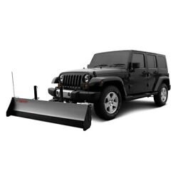 For Jeep Cherokee 1984-2001 Snowsport 80660/40160 Hd Utility Plow 84 Blade