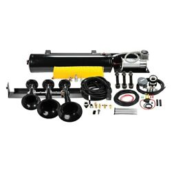 For Ford F-150 10-14 Onboard Air System W 6350rc Compressor And 230 Train Horn