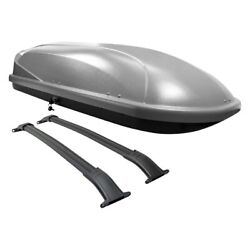 For Chevy Tahoe 15-20 Gray Roof Cargo Box 68 L X 31 W X 16 H 15.9 Cu. Ft