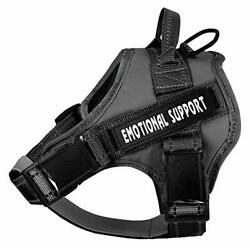 voopet Service Dog Harness No Pull Emotional Support Pet Vest Harness Refle...
