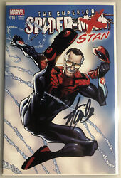 The Superior Spider-man 16 Color Stan Lee Signed Coa Humberto Ramos Variant