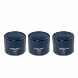 Ecogard 3 Piece Replacement Engine Oil Filter Set For Chrysler Jeep Dodge Ford