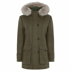 Really Wild Hooded Femme Veste - Loden Blue Toutes Tailles