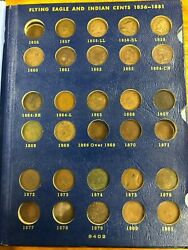 Partially Complete Indian Head Cent Book Collection Lot