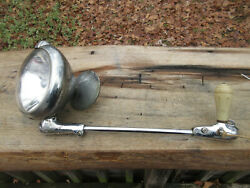 Antique Unity S6 Auto Car Spot Light Search Light With Side View Mirror