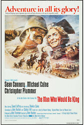 The Man Who Would Be King Orig One Sheet Movie Poster Sean Connery/michael Caine