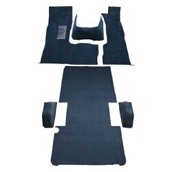 For Dodge B150 81-93 Carpet Essex Replacement Molded Midnight Blue Complete