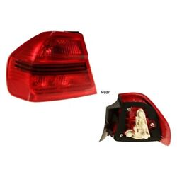 For Bmw 323i 06-08 Magneti Marelli Driver Side Outer Replacement Tail Light