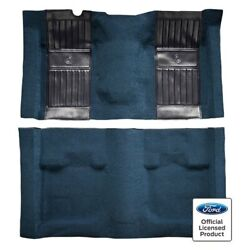 For Ford Mustang 71-73 Carpet Essex Replacement Molded Maroon Complete Carpet