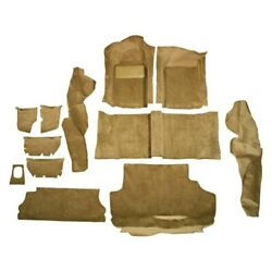 For Porsche 924 79-82 Carpet Essex Replacement Molded Brown Complete Carpets Kit