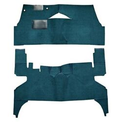 For Buick Century 55 Carpet Standard Replacement Cut And Sewn Black Complete