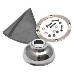 American Shifter Vertical Shift/emergency Brake Boot And Ring Kit
