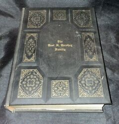 Large Antique Holy Bible 1970 Family-owned Bible Christmas 1972 A.j. Holman