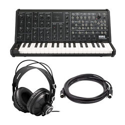 Korg MS20 Mini Semi modular Analog Synthesizer with Monitor Headphones and Cable $549.99