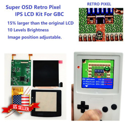 Gbc Game Boy Color Q5 Ips Backlight With Osd