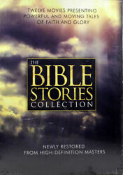 The Bible Stories Collection New 12 Dvd Set Powerful Moving Stories Faith Glory