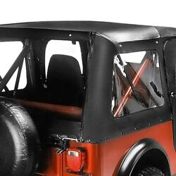 For Jeep Cj5 1976-1983 Bestop 51117-01 Replace-a-top Black Crush Soft Top