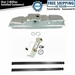 Fuel Tank With Straps And Electric Fuel Pump/sending Unit Kit 25 Gallon 8and039 Bed