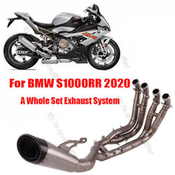 Motorcycle Exhaust System Connector Muffler Silencer For Bmw S1000rr 2019 2020