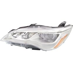 8115006870 To2503223 Headlight Lamp Left Hand Side Driver Lh For Toyota Camry