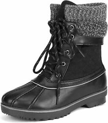 Dream Pairs Womenand039s Mid Calf Winter Snow Boots