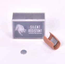Pk Ring Stage Magic Silent Assistant Close Up Tricks Illusion Gimmick Cuts Noise