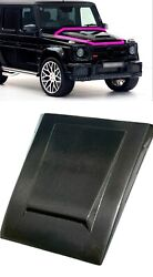 G Wagon Brabus Style Carbon Fiber Hood Cover Scoop Fits W463 Mercedes Till 2018