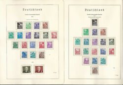 Germany Ddr Stamp Collection On 11 Hingless Lighthouse Pages 1953-55, Jfz