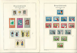 Germany Ddr Stamp Collection On 24 Hingless Lighthouse Pages 1962-64, Jfz